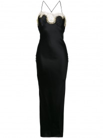 Gina Black Long Slip