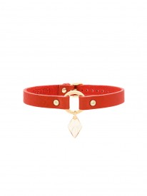 Kitten Swarovski Red Choker