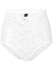 Petunia Ivory High Waist Brief