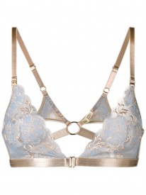 Amaya Blue Soft Triangle Bra