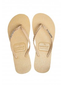 Butterscotch Flip Flops