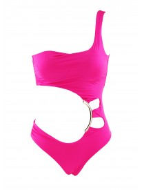 Palau Pink Cut out Swimsuit