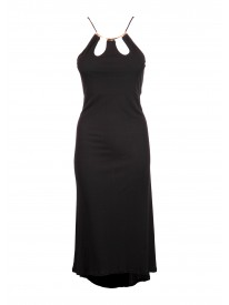 Orosei Black Dress
