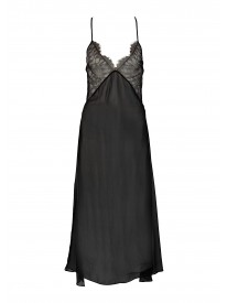 Lorelei Leavers Lace Silk Slip
