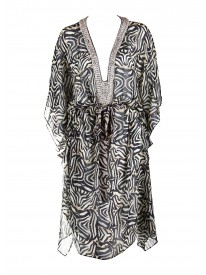 Tiger Eye Kaftan