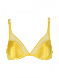 Lemon Cello Padded Plunge Bra