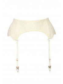 Grace Ivory Suspender Belt
