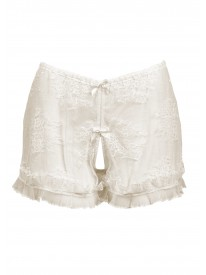 Ouvert Ivory French Knicker