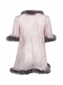 Marabou Pink Negligee