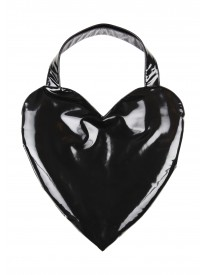 Black Patient Love Heart Bag