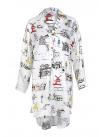 Paris Lounge Nightshirt