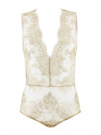 Greta Gold Lace Body