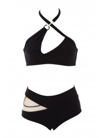 Nikita Bikini Top and High-Waisted Briefs