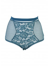 Petunia Petrol High Waist Brief