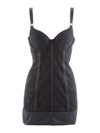 Ritmo Black Nightdress