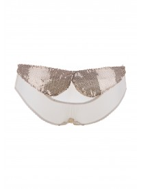 Tea Party Gold Peekaboo Briefs