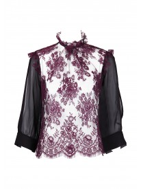 Garden of Tuileries Lace Top