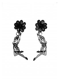 Burlesque Swing Pin up Earrings