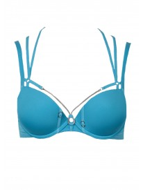 Calder Ocean Blue Push up Bra