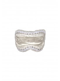 Just Married Silk Eyemask