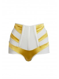 Onyx Lemon High waisted Brief