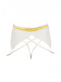 Catwalk Lemon Suspender Belt