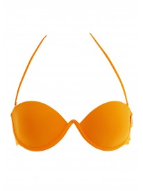 On Ice Papaya Moulded Bikini Top