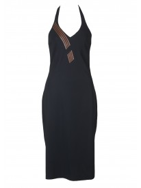 Noir Halter Beach Dress