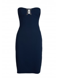 On Ice Ultramarine Bandeau Beach Dress