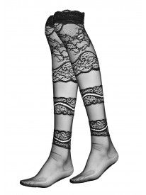 Oro Nero Lace Stockings