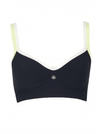 Myra Pull on Black Sports Bra