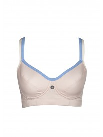 Myra Pull on Peach Sports Bra