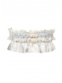 Silk Keepsake Garter Gift Set
