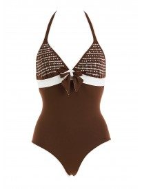 Summer Dream Brown Swimsuit