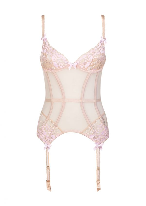 gianna pink lace basque by l agent by agent provocateur  6548d4869